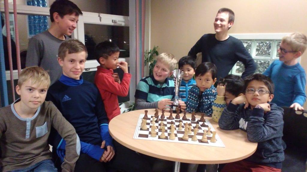 Medalje i NM i sjakk - spillerutvikling og juniorsjakk.
