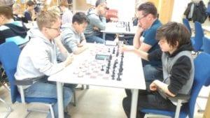 Sjakkturnering på Frøya - barnesjakk