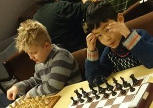 To unge sjakktalent i Trondheim!