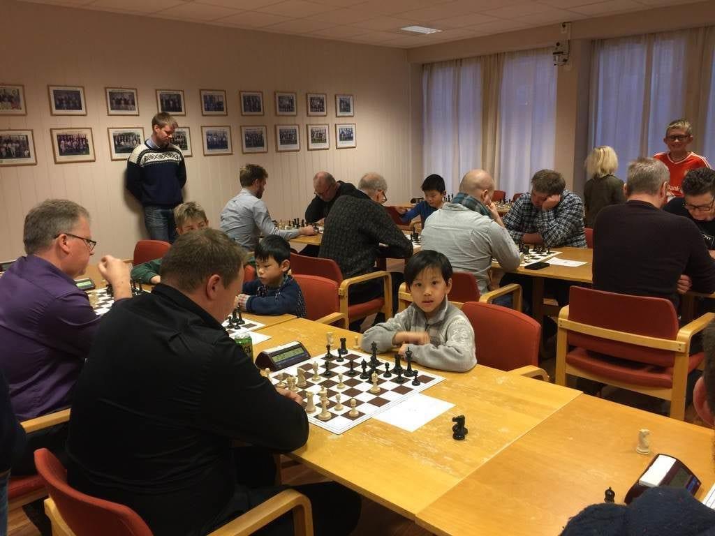 Frostating julelyn 2017 - Levanger Sjakklubb
