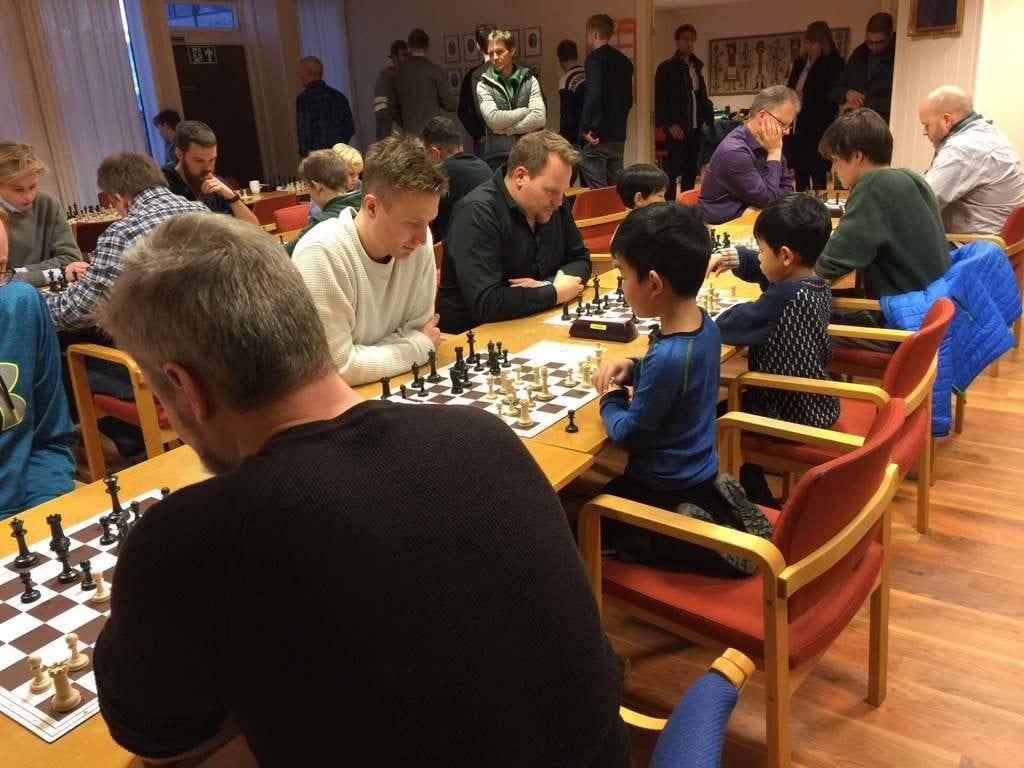 Frostating julelyn Grand Prix 2017 - Levanger Sjakklubb