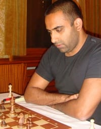Sjakktrener Edwin Fernando David