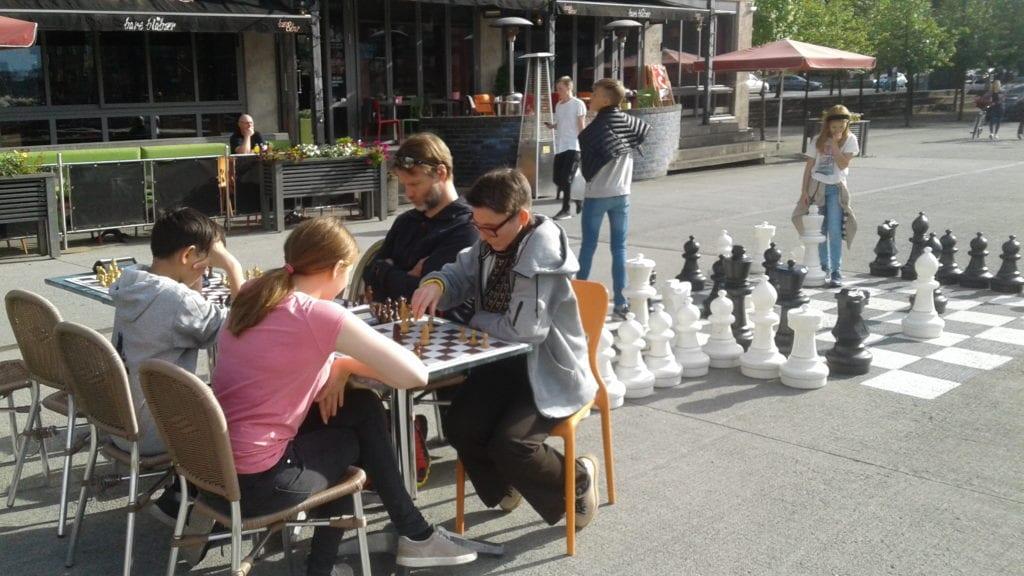 Sjakk på Solsiden i Trondheim - Hell Sjakklubb.
