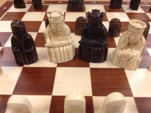 The Lewis Chessmen from Trondheim.