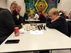 Sjakkturnering i Trondheim - Knut Brokstads Minneturnering