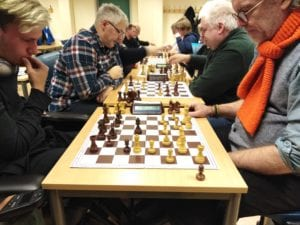 Sjakkturnering med tidshandicap