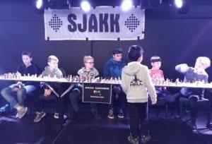 Sjakk i Olavshallen - Hell Sjakklubb