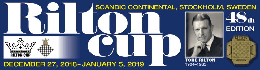 Hell Sjakklubb deltar i Rilton Cup 2018 - 2019