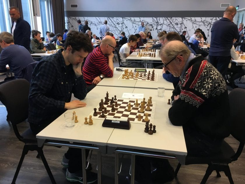 Sjakkfestival på Hell