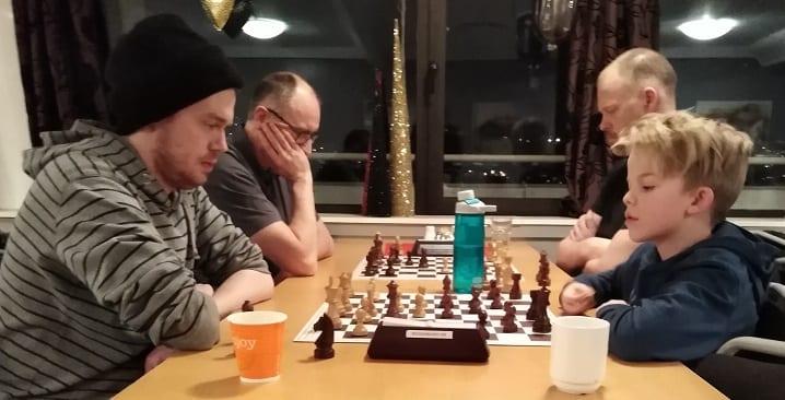 Spillerutvikling i sjakk - Hell Sjakklubb
