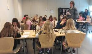 NM for jenter 2019 i Trondheim - Hell Sjakklubb