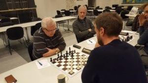 Midtnorgeserien avdeling Trøndelag - spille sjakk i Trondheim og Stjørdal.
