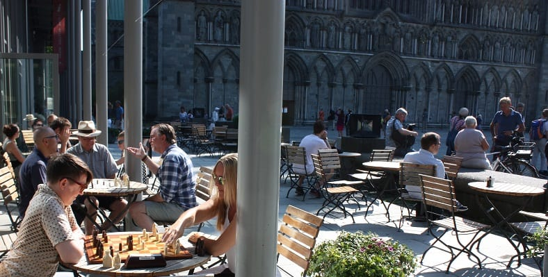 Lewisbrikkene i Trondheim.