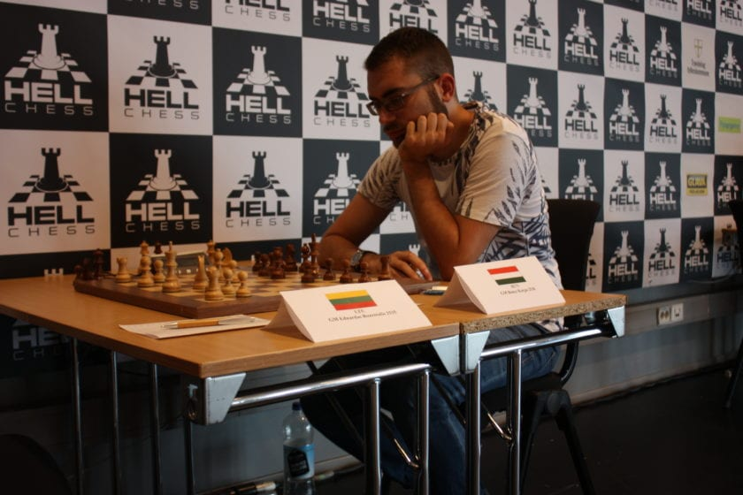 GM Bence Korpa won Hell Chess International 2019 with 8 points out of 10.