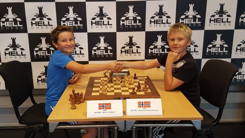 Hell Chess International 2019, with kids tournament.