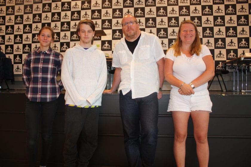 IM-napp til FM Mads Vestby-Ellingsen under Hell Chess International 2019.