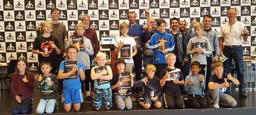 Sjakkturnering for barn, ungdom og voksne under Hell Chess Festival 2019.