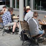 Sommersjakk ved Kafe to tårn